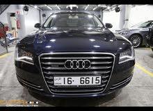 Audi A8L business class mint like new condition فئة رجال الاعمال