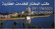 Ground Floor  apartment for rent with 2 rooms - Benghazi city Downtown