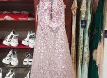 فستان ملبوس مرة واحده للبيع