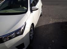 تويوتا كرولا   سياره للايجار ..موديل 2014