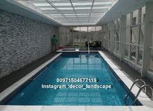 شركة تنفيذ احواض سباحة - صيانة مسابح-تنسيق حدائق