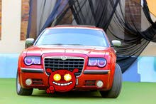 Red Chrysler 300C 2008 for sale