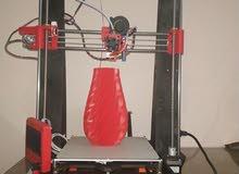 الطابعه ثلاثية الابعاد الخطيره Printer prusa/Graber i3