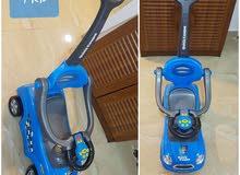 سيارة اطفال & طبق استحمام للطفل