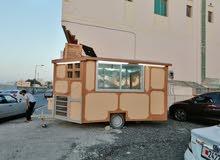 للبيع عربة طعام جاهزة بالكامل