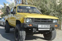Manual Yellow Toyota 1988 for sale