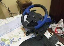 جهاز تحكم بالعاب السيارات للبليستيشن 4و 3
