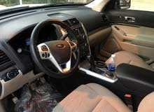 White Ford Explorer 2015 for sale