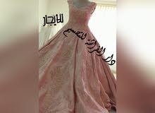 فستان محظر ملبوس مره وحده