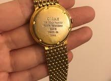 ORIGINAL Omax Sapphire Swiss Gold Plated Hand Watch