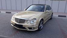 2007 Mercedes E63 AMG Gulf Specs Full options