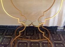 طاولة زخرفة الحديد