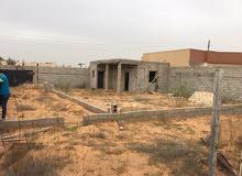 قطعة ارض 500م في النشيع قيد الإنشاء بعد الشيل