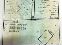 سكنية في مخطط الكورنيش برأس مدركة مساحة 630م