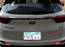 سيارات كيا اسبورتاج 2019 تربو للايجار للمصريين بالخارج ورجال الأعمال تامين شامل