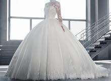 فستان عرس جميل جدا