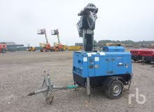 مولد كهرباء 10kVA مع كشافات 1000 واط