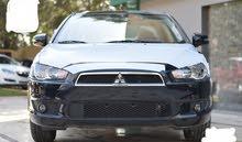 سيارة ميتسوبيشي لانسر 2016 للايجار بدون سائق للمدد فقط والشركات