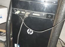 كمبيوتر HP مكتبي مستعمل للبيع