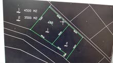 مادبا-الفيحاء-المسيج-قطعة ارض مميزه 3527م زراعيه للبيع