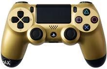 ps4 controller gold new ذهبي للتجار