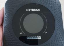 أسرع راوتر متنقل لألعاب اونلاين والتحميل Netgear Nighthawk M1