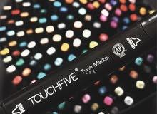 ألوان touch marker.