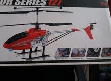 طيارة هليكوبتر جديده تحكم عن بعد للبيع