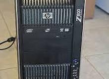 سيرفر لشغل الهندسه //HP WORKSTATION Z800 XEON E5620 ب2 برسيسور//كاش 24