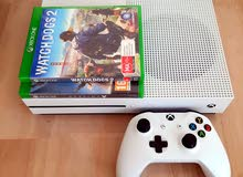 Xbox One S 1tb with 2 games and one controller