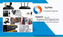 IT Support, CCTV, wifi-networking, Central Telephone, Intercom Door