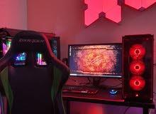 Gaming PC Setup i7-8700K/16gb Rams RGB/GTX 1060 6gb/2tbhdd/120gbssd