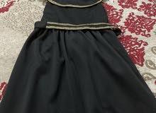 فستان اسود خفيف