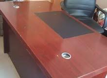 مكتب خشب استعمال شخصي +كرسى