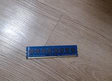 لبيع رامات 4GB.2RX8.PC3-12800U-11-12-B0.1600