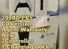 299BD PS5 New Agent Warranty