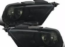 اضوية رأسية فورد موستنج الاصدار الاسود 2010-2014 للبيع /Ford mustang head light black 2010-2014