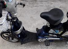 دراجة كهربائية مستعملة بحالة الوكالة
