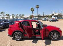 تأجير سيارات الفا روميو ستلفيو 2018 أتوماتيك جديد بمطار محمد الخامس الدولي