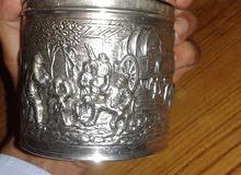 تحفة قديمة من الفضة تزن 200غرام