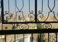 شقه فالدقي فالدور العاشر قبل الاخير شارع ايران،5غرف+ريسيبشن2قطعه+3حمام+بلكونة