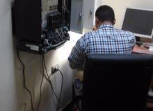 تركيب وتفعيل وبرمجة وصيانة البدالات 0911269964منظومات الكاميرات وشبكات الحاسوب للمصحات