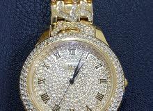 ساعة يد رجالي فاخرة ملكية - ماركة  MV - Marreo Valentino تقليد الأصلية جديدة