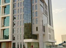 مبني جديد  كامل  تجاري للإيجار  (طوابق مكاتب مفتوحة) في غلا الاولي