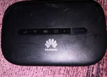 2 جهاز هواوي wifi 3g الحالة جيدة جداا الجهاز الواح 120﷼