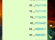 ارقام هواتف مميزه من كل المشغلات… special numberd