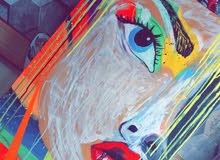 لوحة اكريليك (الجمال)