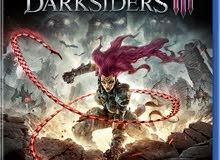 مطلوب لعبة darksiders 3 على بلاستيسن 4