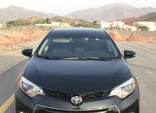 Black Toyota Corolla 2014 for sale
