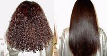 بروتين معالج لجميع انوع الشعر